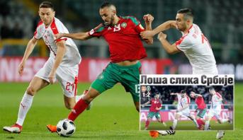 """صحف صربيا تعلق على نتيجة المباراة .. هل بات مدرب وعميد منتخب صربيا يعرفان """"الأسود""""؟"""
