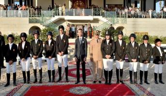 Le Prince Moulay El Hassan préside la cérémonie de remise du Grand Prix de Roi Mohammed VI du concours officiel de saut d'obstacles