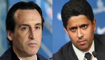"""PSG: Emery n'a pas songé à démissionner et a """"senti la confiance"""" de son président"""
