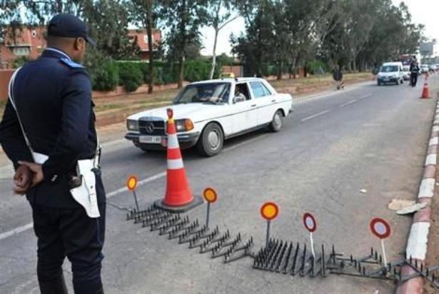 Fès: Arrestation de deux personnes accusées d'avoir percuté délibérément un point de contrôle routier