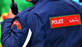 Salé: un policier tire une balle pour neutraliser un repris de justice
