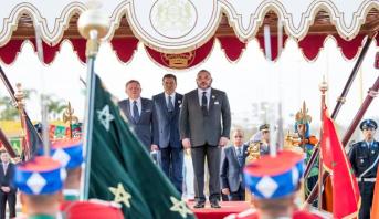 فيديو.. مراسم وصول العاهل الأردني الملك عبد الله الثاني إلى الرباط