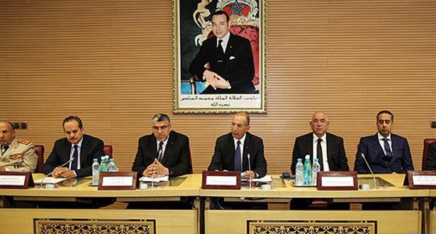 لقاء بوزارة الداخلية حول الاستحقاقات الانتخابية والأوراش الكبرى بالمغرب والوضعية الأمنية