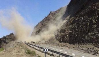 Éboulement sur la Rocade méditerranéenne : Les travaux de déblaiement sont en cours