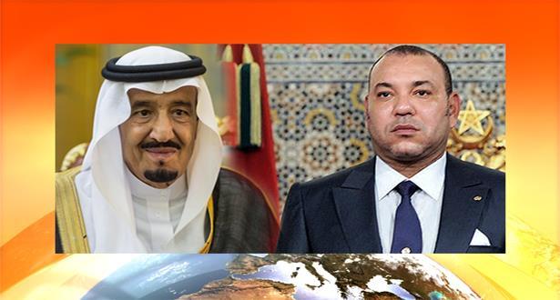 برقية تعزية ومواساة من الملك محمد السادس إلى خادم الحرمين الشريفين