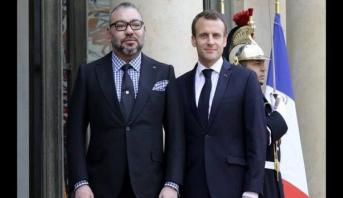 الملك محمد السادس يهنئ الرئيس الفرنسي بمناسبة فوز منتخب بلاده بنهائي كأس العالم