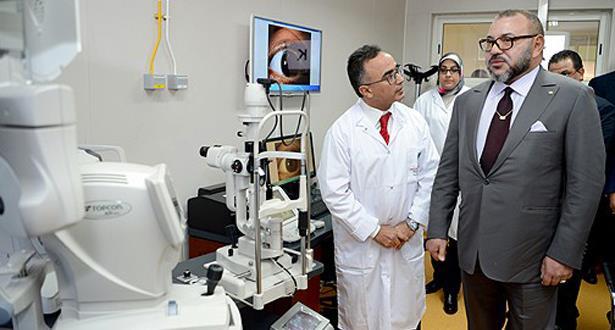 Actualité : Le Roi Mohammed VI inaugure le Centre des