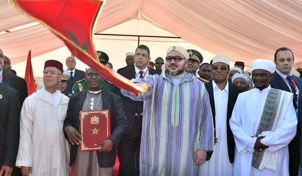 Le Roi donne le coup d'envoi de la construction d'une nouvelle mosquée à Dar es Salam