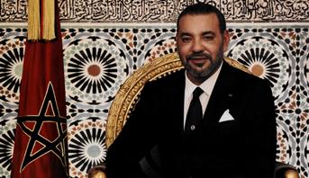 برقية تعزية ومواساة من الملك محمد السادس إلى الرئيس الفرنسي إثر حادث التصادم بين حافلة للنقل المدرسي وقطار