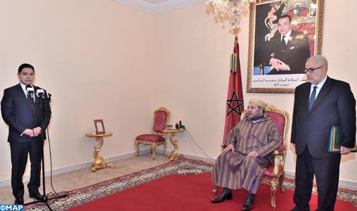 Le Roi nomme Nasser Bourita, ministre délégué auprès du ministre des Affaires Etrangères et de la Coopération