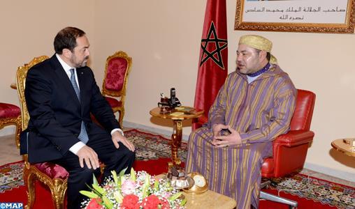 Le Roi nomme Abdelhamid Addou, PDG de la Compagnie Royal Air Maroc