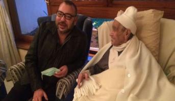 الملك محمد السادس يزور امحمد بوستة بالمستشفى للاطمئنان على حالته الصحية