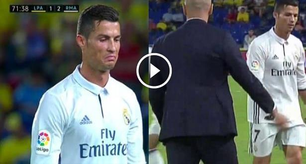 Liga: Le Real se fait rejoindre à Las Palmas 2-2, Ronaldo remplacé et exaspéré