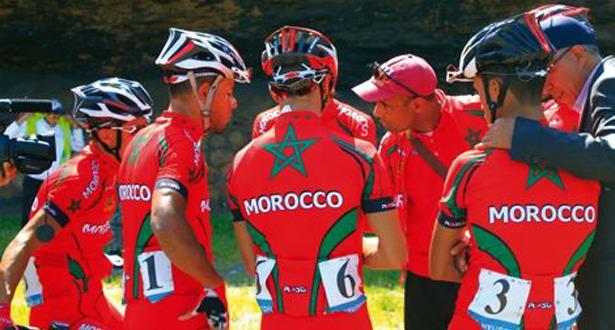 المنتخب الوطني المغربي للشبان يفوز بالميدالية الذهبية لبطولة إفريقيا للدراجات داخل الحلبة