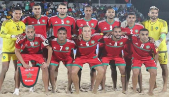 المنتخب الوطني لكرة القدم الشاطئية يحتل الرتبة الرابعة في كأس إفريقيا