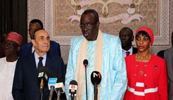 """رئيس برلمان """"سيدياو"""" يشيد برؤية الملك محمد السادس في تسريع الاندماج بالقارة"""