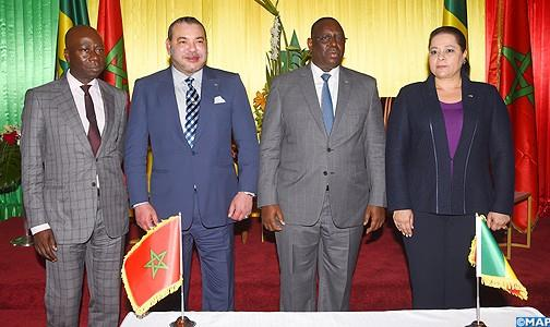 دكار : تنصيب مجموعة الدفع الاقتصادي المغربية السينغالية