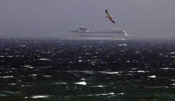 ميناء طريفة يعلن توقف الملاحة البحرية تجاه ميناء طنجة مؤقتا بسبب سوء الأحوال الجوية