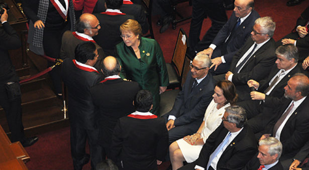 الطالبي العلمي يمثل الملك محمد السادس في حفل تنصيب الرئيس البيروفي الجديد
