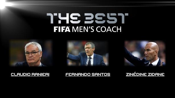 Fifa: les finalistes pour le titre de meilleur entraîneur