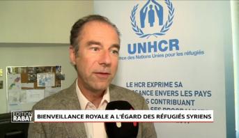 Bienveillance royale à l'égard des réfugiés syriens: Le HCR exprime sa reconnaissance