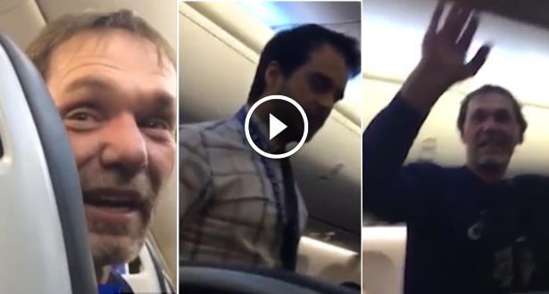 Vidéo: un Américain  débarqué d'un avion pour avoir proféré des propos racistes