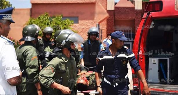 Actes de vandalisme à l'université de Marrakech: 24 membres des forces de l'ordre blessés
