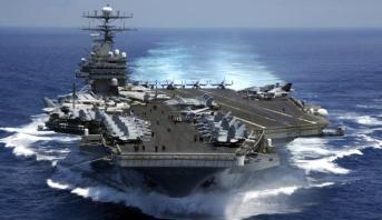 نشر حاملة طائرات أمريكية في شبه الجزيرة الكورية بمثابة رسالة تحذيرية لزعيم كوريا الشمالية