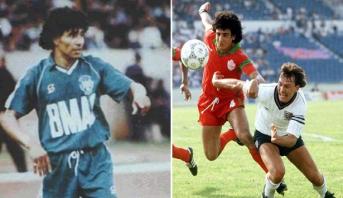 """""""الكاف"""" يتذكر واحدا من أساطير الكرة المغربية والإفريقية في عيد ميلاده 64"""