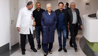 تداول صور للرئيس الفلسطيني عباس أبو مازن داخل المستشفى