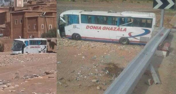 Un mort et sept blessés graves dans un accident d'autocar entre Marrakech et Ouarzazate