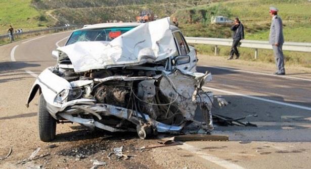 Deux morts et cinq blessées dans un accident sur l'autoroute au niveau de Sidi Allal Bahraoui
