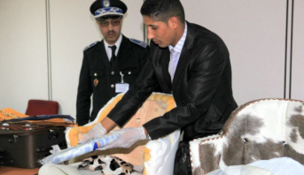 توقيف مواطن من غينيا بيساو متلبسا بمحاولة تهريب كمية من الكوكايين بمطار محمد الخامس