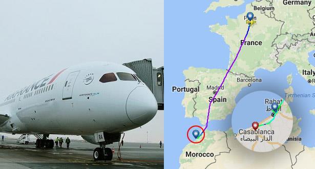 Un vol Paris-Rabat dérouté vers l'aéroport Mohammed V de Casablanca