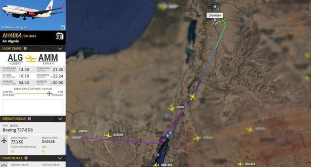 إعلام الاحتلال الإسرائيلي يؤكد اختراق طائرة جزائرية مجاله الجوي والجزائر تنفي