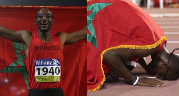 محمد أمكون يهدي المغرب ثاني ذهبية ويحطم الرقم القياسي العالمي