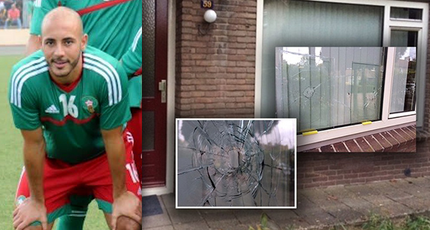 منزل عائلة نجم المنتخب الوطني المغربي يتعرض لهجوم مسلح بهولندا
