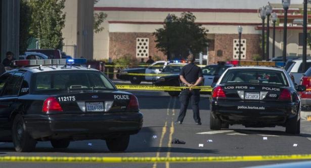 مقتل ثلاثة أشخاص والمهاجم في إطلاق نار بكاليفورنيا