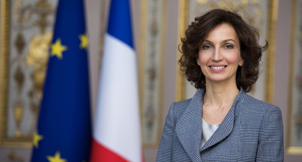 Macron: Audrey Azoulay saura donner à l'Unesco les moyens d'assumer ses missions essentielles