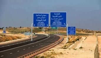 ADM: suspension de la circulation entre les échangeurs de Jorf lasfar et de Sidi Smail