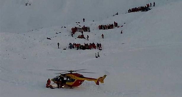 Suisse: une avalanche emporte une dizaine de randonneurs