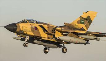 سقوط طائرة عسكرية جنوب السعودية ونجاة قائديها