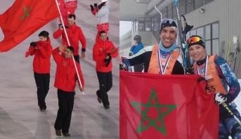 """أولمبياد 2018.. المغربي عزيماني من """"الصدفة"""" الى تزلج المسافات الطويلة"""