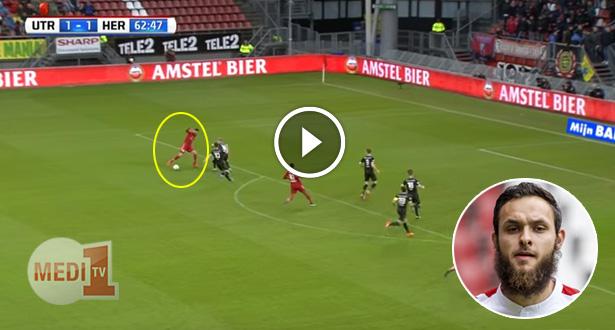فيديو .. المغربي ناصر بارازيت يتألق من جديد ويسجل هدفين في أربعة دقائق
