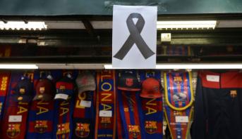 Attentats en Espagne: maillots commémoratifs au Barça