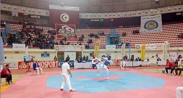 ميدالية ذهبية للمغربي زهير بن رزوق في البطولة العربية العسكرية للتايكواندو