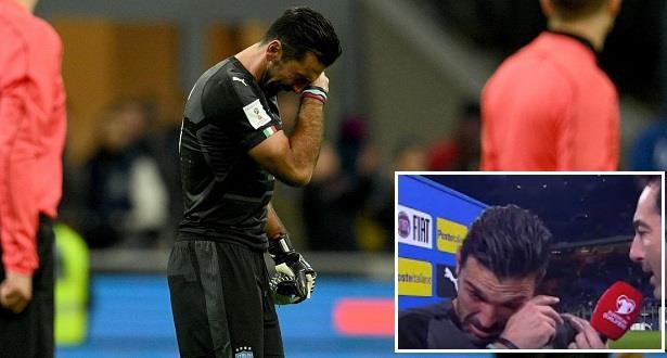 Eliminatoires du Mondial2018: Gianluigi Buffon annonce son retrait international après l'élimination de l'Italie