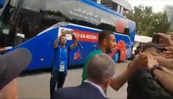 الجماهير المغربية تفاجئ بوحدوز