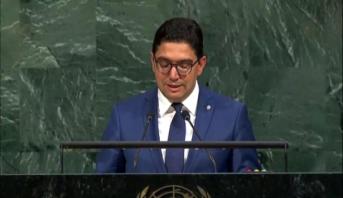 بوريطة: الدورة 72 للجمعية العامة للأمم المتحدة أبرزت مكانة المغرب كشريك يحظى بالاحترام بفضل القيادة المتبصرة للملك محمد السادس