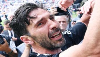 Buffon dit adieu à la Juventus